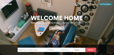 Welcome to the wonderful world of Air BnB