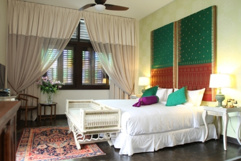 It's easy to see why the Sari Room is GM of Campbell House's favourite. Image from www.campbellhousepenang.com