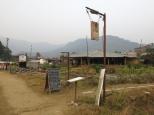 One of many yoga retreats in Pokhara.