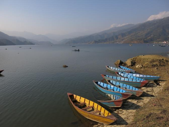 Phewa Tal @ Pokhara, 2014