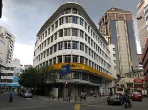 Maybank's first bank, opened here n 1960.