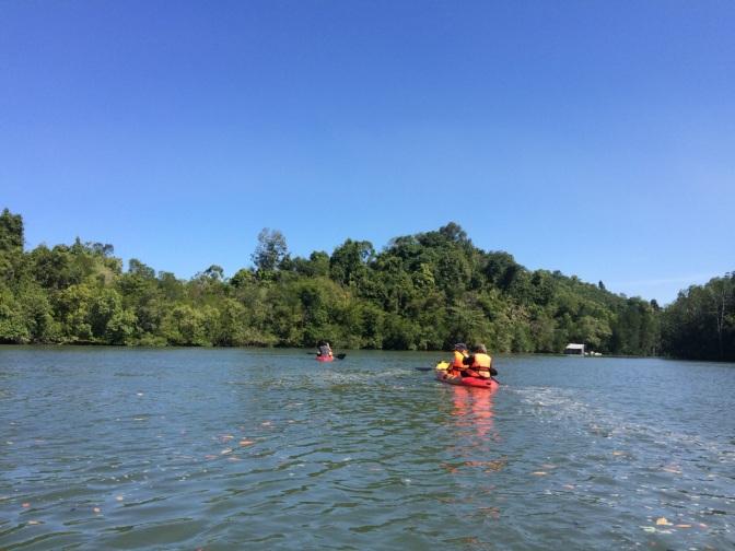 Kayaking @ Sungai Kubang Badak, Langkawi