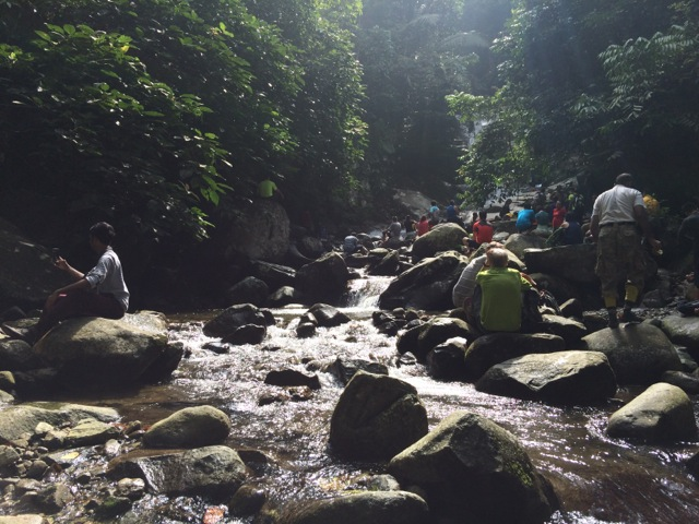 Lepok Falls hike