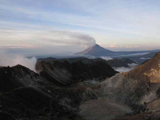 Gunung Sibayak hike via Jaranguda