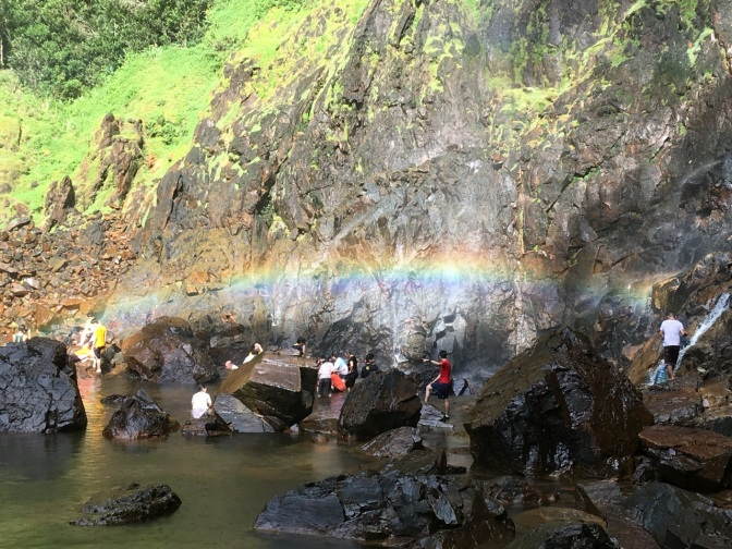Rainbow Falls hike