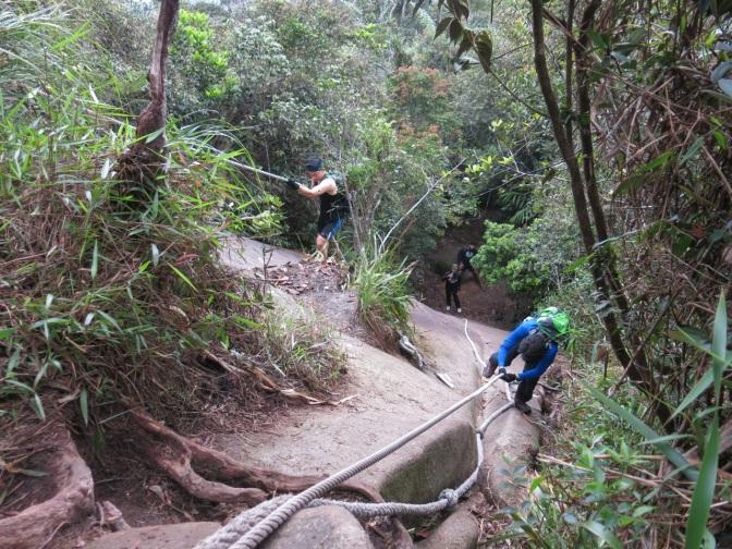 Gunung Ledang hike via Asahan