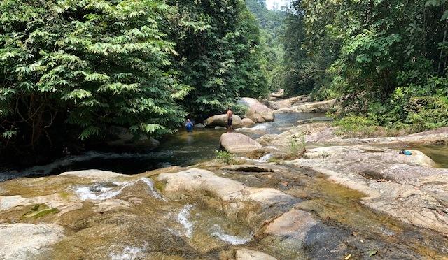 Lubuk Kawah waterfall